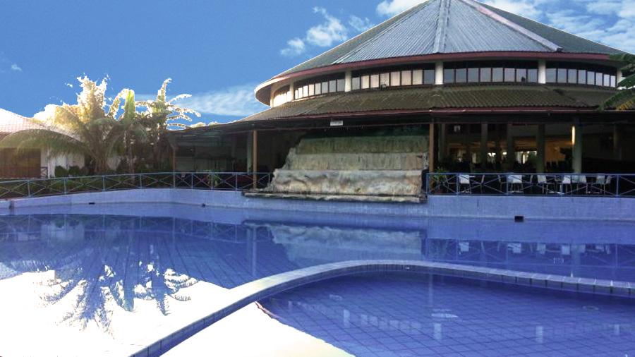 Borneo Paradise beach Hotel-swimming pool
