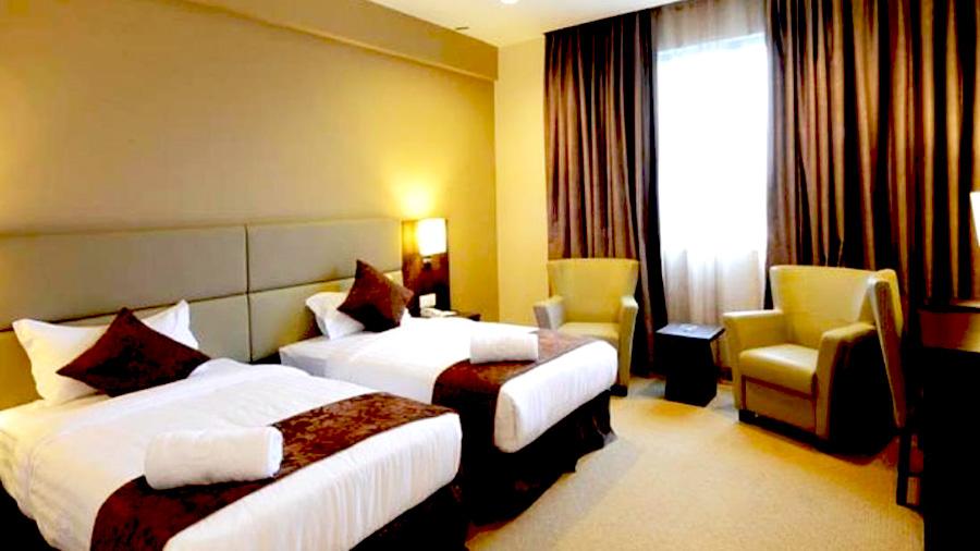 Lintas View Hotel - Bedroom