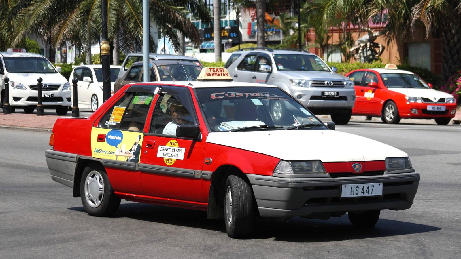 Taxi in Kota Kinabalu