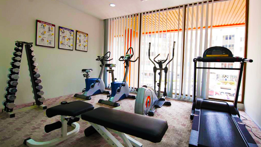 Gaya Centre Hotel - Gym
