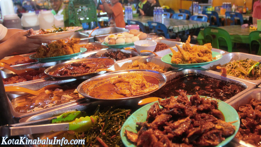 Nightmarket in Penampang