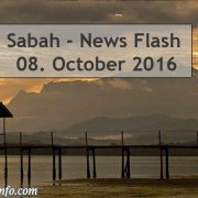 Sabah News Flash - 08. October 2016