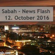 Sabah - News Flash - 12. October 2016
