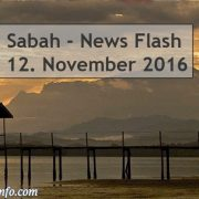 Sabah News Flash - 12. November 2016