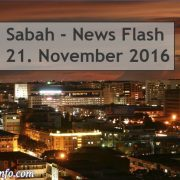 Sabah News Flash - 21. November 2016