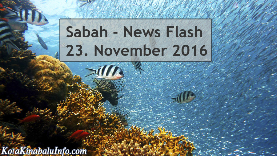 Sabah News Flash - 23. November 2016