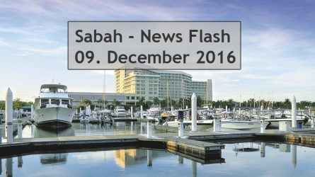 Sabah News Flash – 08. Decemberr 2016