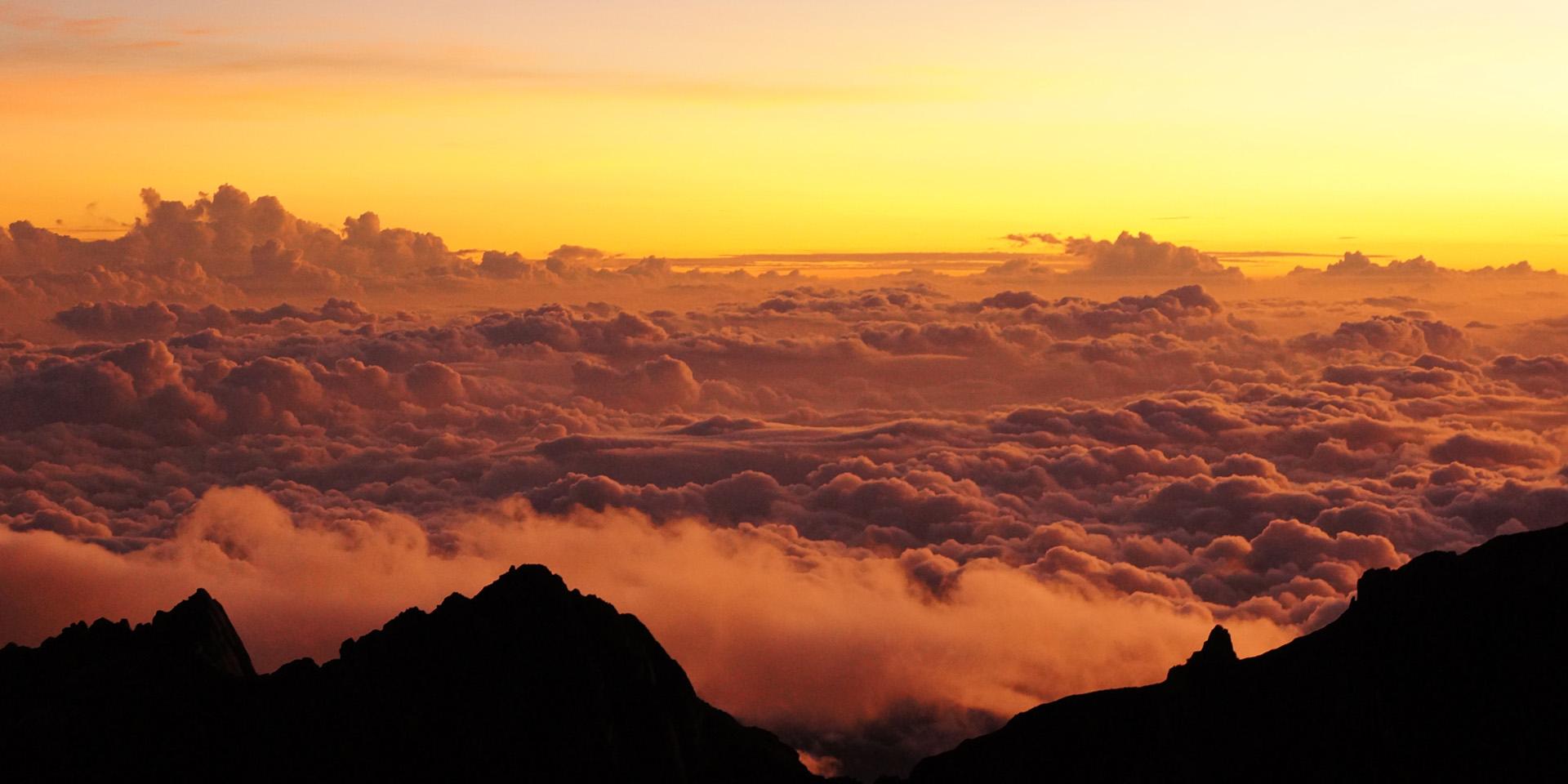 Mount Kinabalu Sunrise