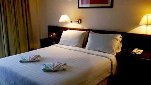 Borneo Paradise beach Hotel-bed