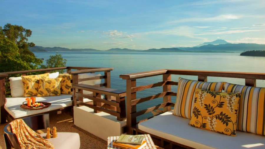 Gaya Island Resort - View from Terrace