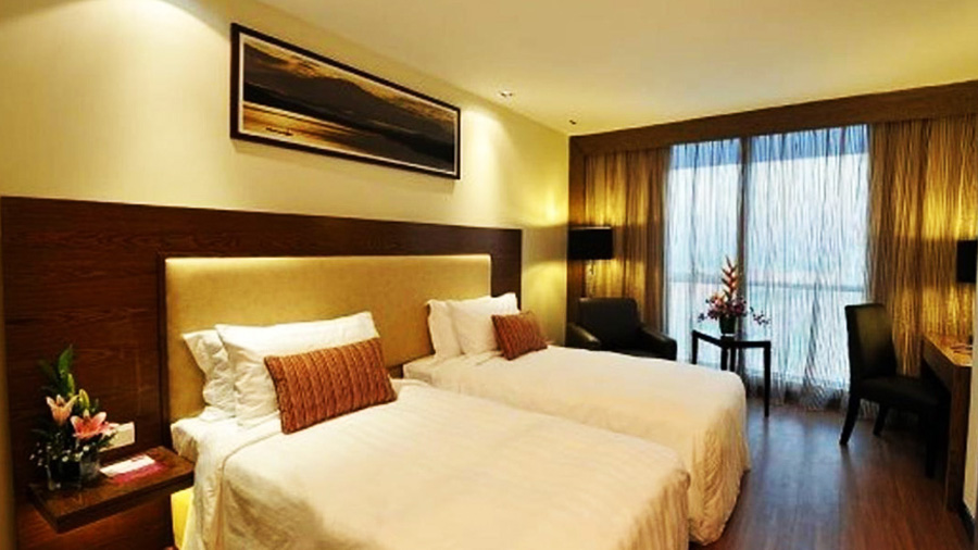 Grand Borneo Hotel-bedroom01