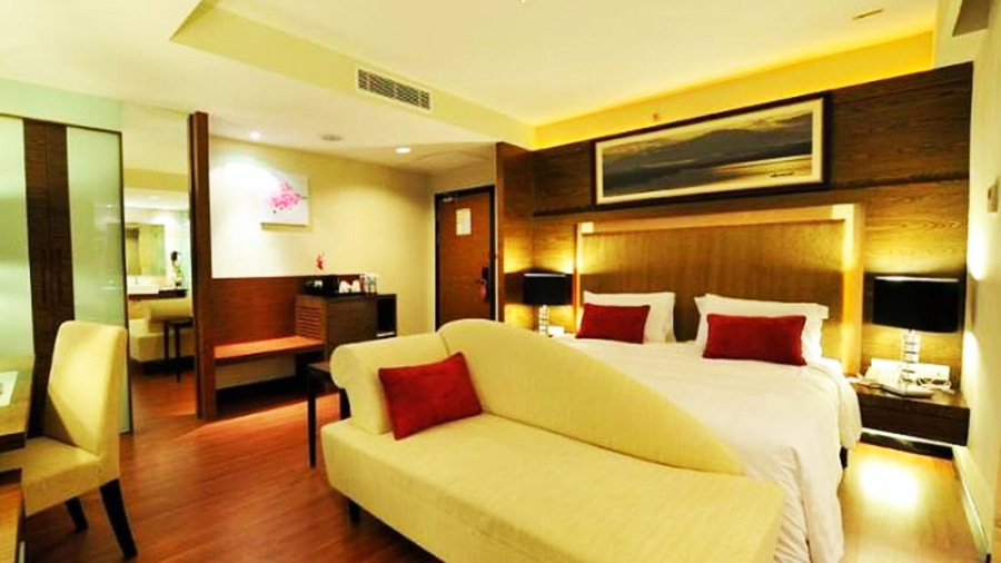 Grand Borneo Hotel-bedroom