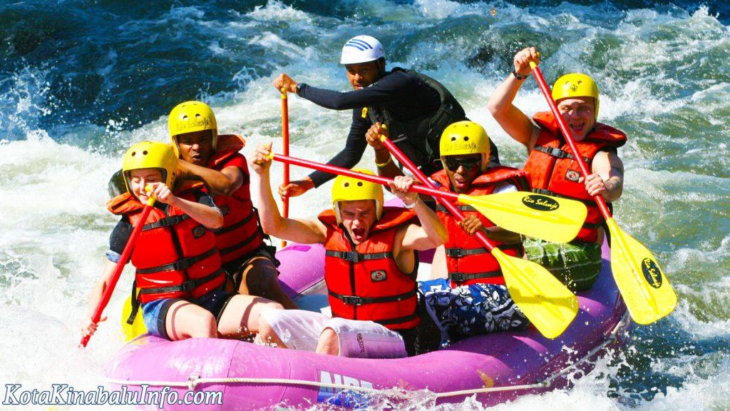 Kota Kinabalu rafting