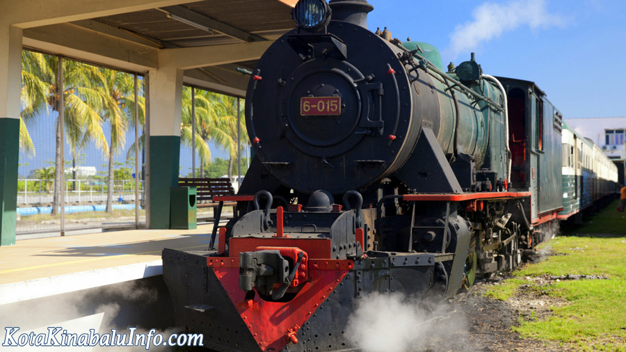 Northern Borneo Railway - Steamtrain