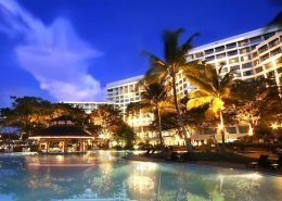 The Pacific Sutera Pool at Sunset