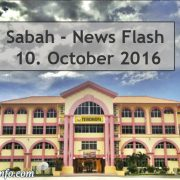 Sabah News Flash - 10. October 2016