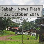 Sabah News Flash - 22 October 2016
