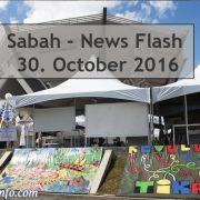 Sabah News Flash - 30 October 2016