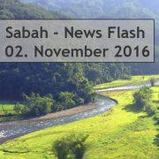 Sabah News Flash - 02. November 2016