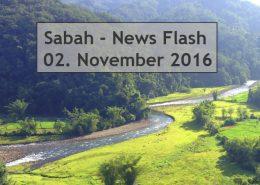 Sabah News Flash - 02. November 2016