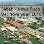 Sabah News Flash - 04 November 2016