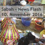 Sabah News Flash - 10 November 2016