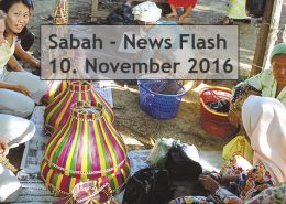 Sabah News Flash - 10 November 2016