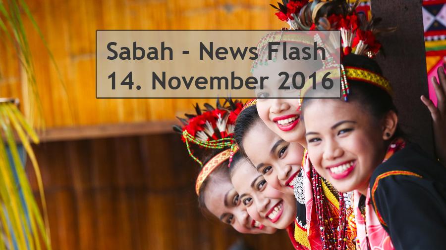 Sabah News Flash - 14 November 2016