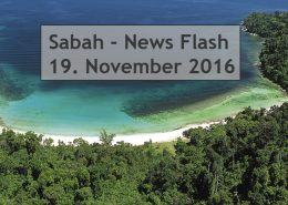 Sabah News Flash - 19. November 2016