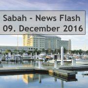 Sabah News Flash - 08. Decemberr 2016