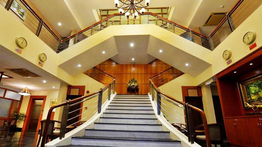 Asiana Hotel-entrance lobby