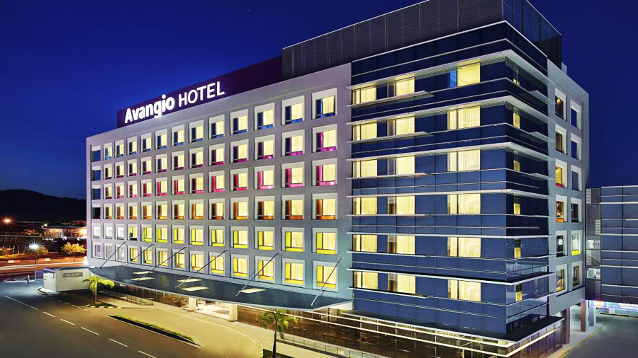 Avangio Hotel Kota Kinabalu Managed by Accor-building