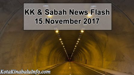 Sepanggar Tunnel Opens on Saturday