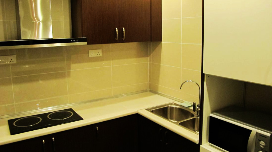 Boneo Holiday Homes@1Borneo Tower B Conominium-kitchen01