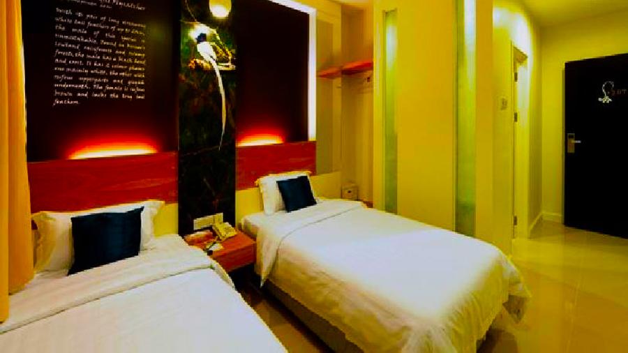 KK Suites Hotel @ Gaya Street-bed