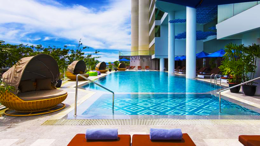 Ll Le Meridian Hotel Kota Kinabalu High End City Hotel 5 Star Hotel