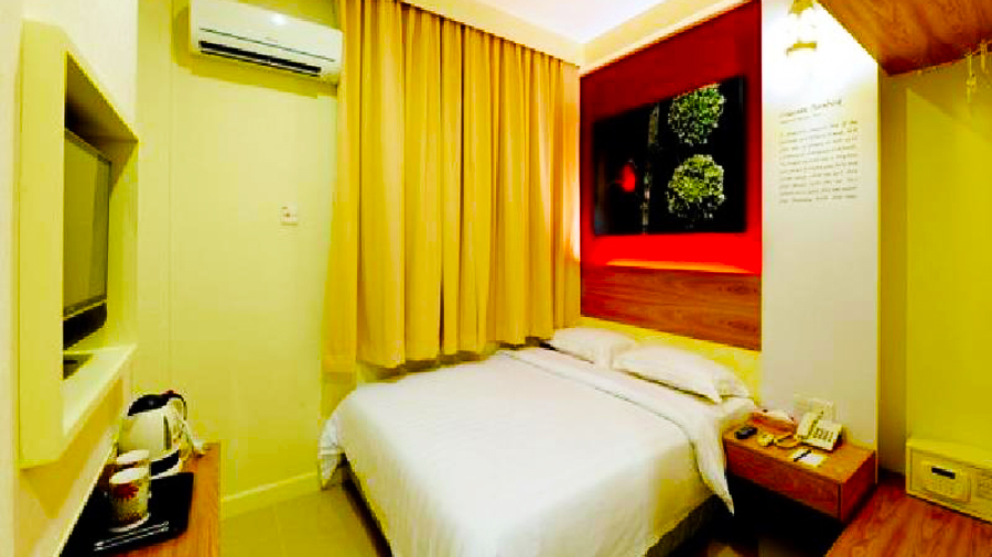 Rooms at KK Suites Hotel @ Gaya Street
