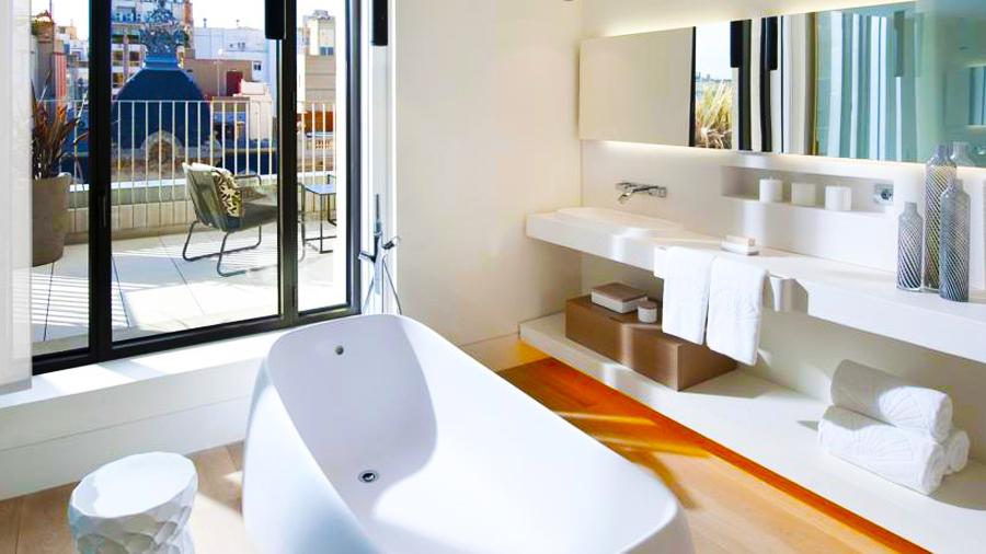 Mandarin Hotel-bath room