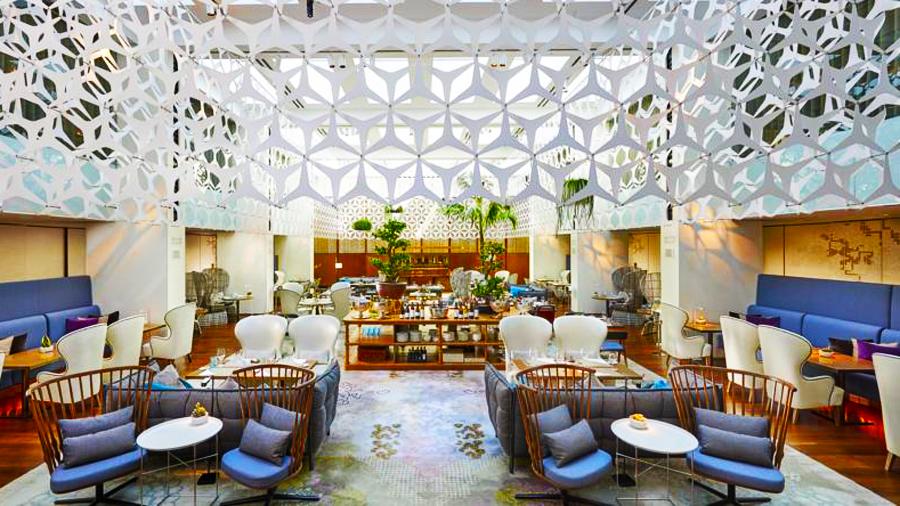 Mandarin Hotel-lobby