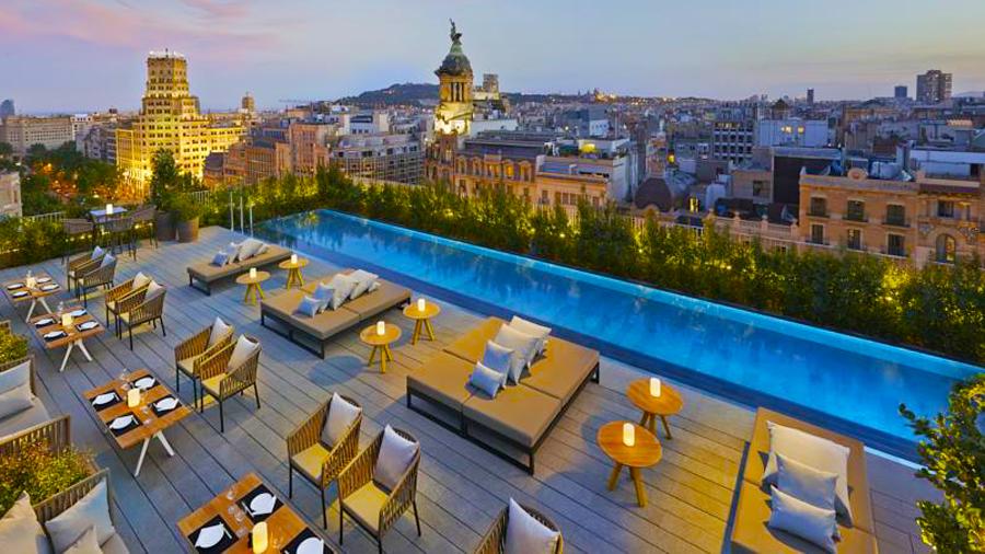 Mandarin Hotel-relax pool