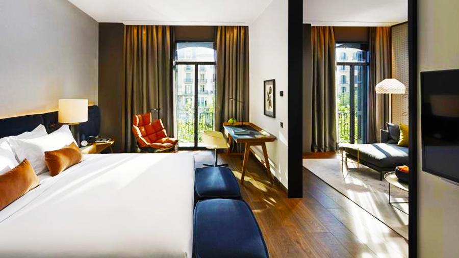 Rooms at Mandarin Hotel